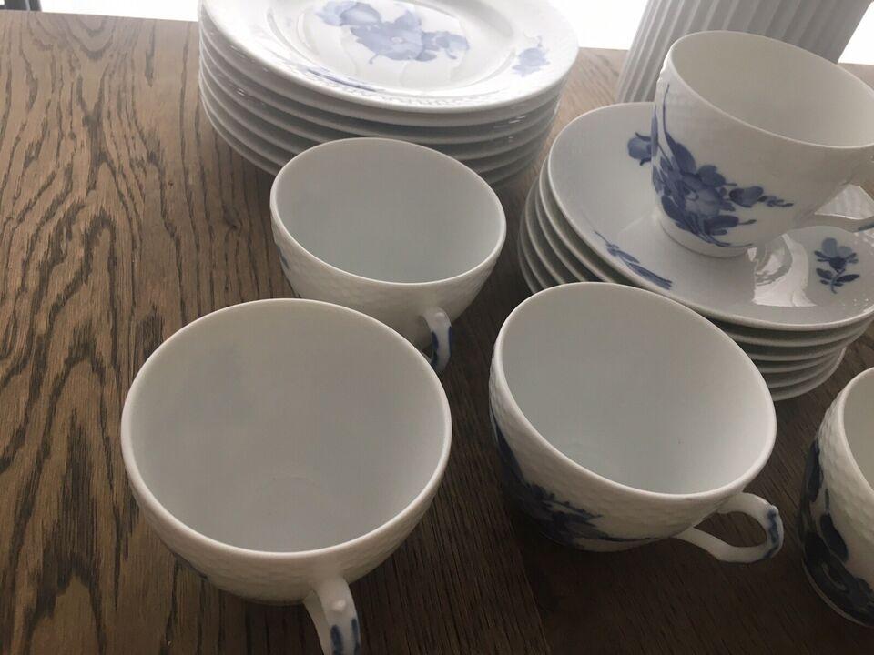 Porcelæn, Kaffestel, Royal Copenhagen blå blomst