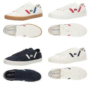 NEW Lacoste Men's Casual Shoes Sideline Lace-Up Fashion Sneakers