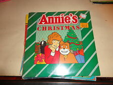 Annie's Christmas record 1982