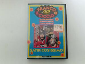DVD-Franco-amp-Ciccio-DeAgostini-Satiricosissimo-NUOVO-non-Blisterato