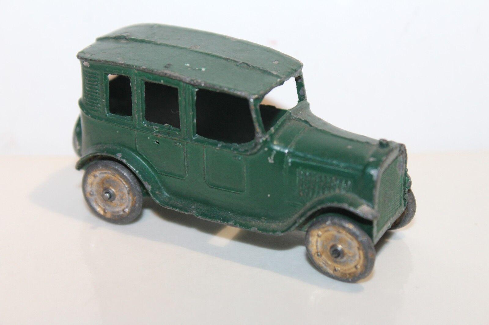 NICE 1920's TOOTSIETOY YELLOW CAB SEDAN circa 1921