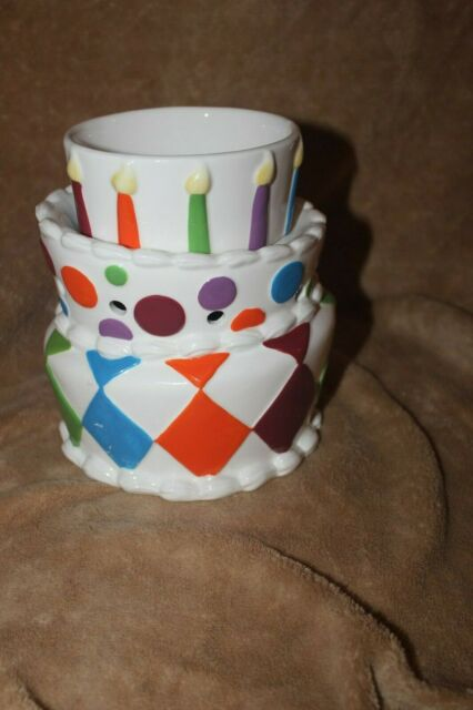 Awesome Scentsy Large Birthday Cake Warmer For Sale Online Funny Birthday Cards Online Sheoxdamsfinfo