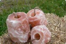 SalNatural/© 3X 3-4 Kg Himalaya* Leckstein Mineral Salzleckeine mit Kordel