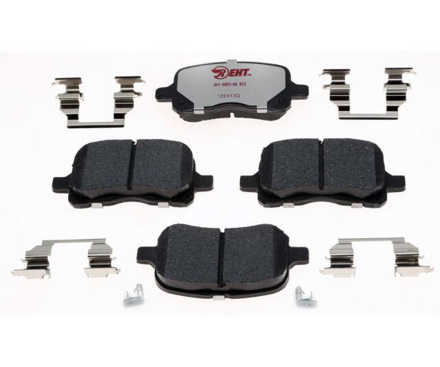 Disc Brake Pad Set-Element3; Hybrid Technology Front Raybestos EHT741H