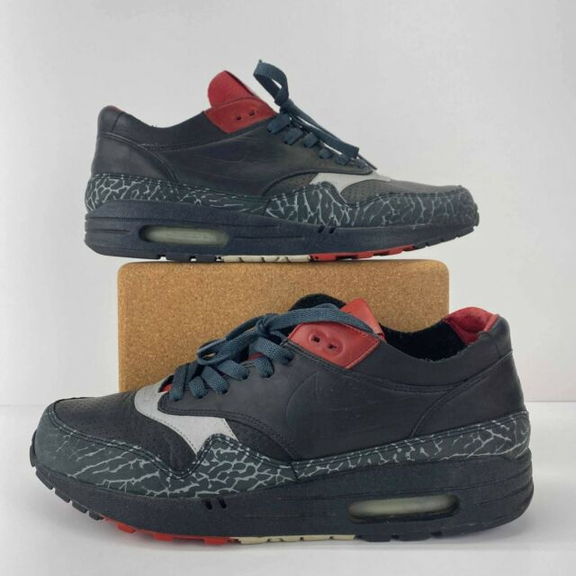 Size 10 - Nike Air Max 1 NL Premium Elephant Print - Black Varsity ...