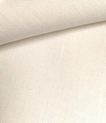 Antiguo Blanco 32 Conde Zweigart Murano Evenweave Tela 50 X 70 Cm