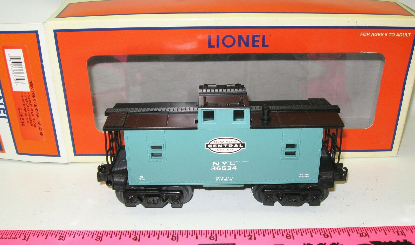 Lionel 6-36534 New York Central Caboose
