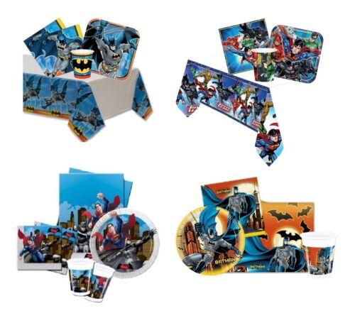 sous Licence Batman Gammes Anniversaire// Vaisselle// Dc Comics // Fête Paquets
