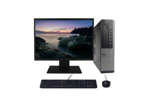 pc dell optiplex 790 i3 4*3.1ghz ssd 240go+écran 19 windows 10 mémoire vive 8go