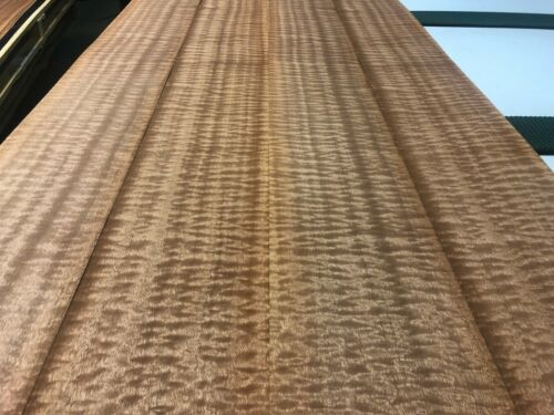 Quilted Qtr Sapele Veneer 2 sheets 126/'/' x 7/'/' 514C