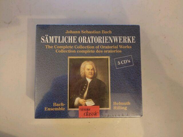 Sämtliche Oratorienwerke by Rilling, Bach Colleg.Stuttgart | CD | New