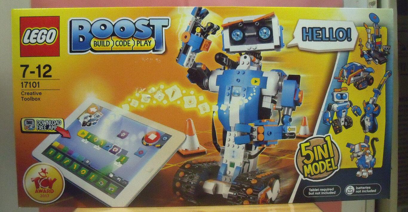 LEGO 17101 CREATIVE TOOLBOX 5 MODELLI COMANDABILI DA TABLET