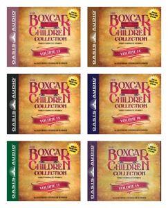 NEW-The-Boxcar-Children-Set-of-6-Audio-Book-Gertrude-Warner-13-14-15-16-17-18-CD