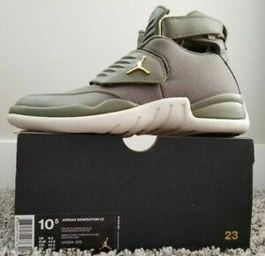 7965772a003 Image is loading Nike-Air-Jordan-Generation-23-Basketball-Shoes-Olive-