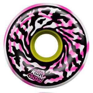 SANTA CRUZ Slime Balls Swirly 65mm 78a Pink - Longboard Rollen