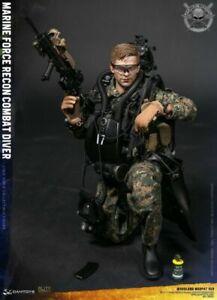 Marine Mission Combat Force Action Figure Set Dingy etc Motorbike