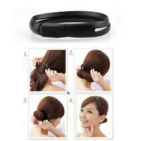 Multifunctional Hair Styler Bun Ponytail Twist Ring Maker New EF US.F
