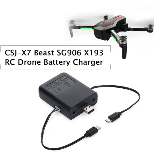 2in1 Drone Battery Charger for CSJ-X7 Beast SG906 SG906 PRO X193 Rapid Charging