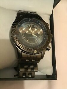 New Boxed Globenfeld Blue Face 4 Dail Mens Watch Normal Sale Price £435