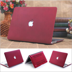 watch a6291 ca5a1 Details about Wine Red Quicksand Hard Case Cover for Macbook Air Pro Retina  11
