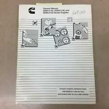 cummins qsb 4 5 and qsb6 7 engine operation and maintenance manual