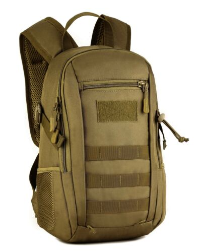 Yakmoo Mini Daypack 12L Waterproof Assault Backpack Tactical Military Style M...
