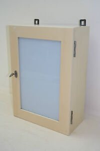 Verre ancien armoire garde manger armoire en bois murale cabinet m dical ebay - Armoire garde manger a vendre ...