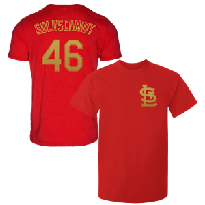 finest selection 58619 36155 Details about Paul Goldschmidt T-Shirt St Louis Cardinals MLB Regular/Soft  Jersey #46 (S-3XL)