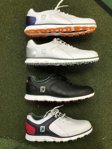 0648953bbe572 Details about Footjoy Pro SL Mens Leather Golf Shoes