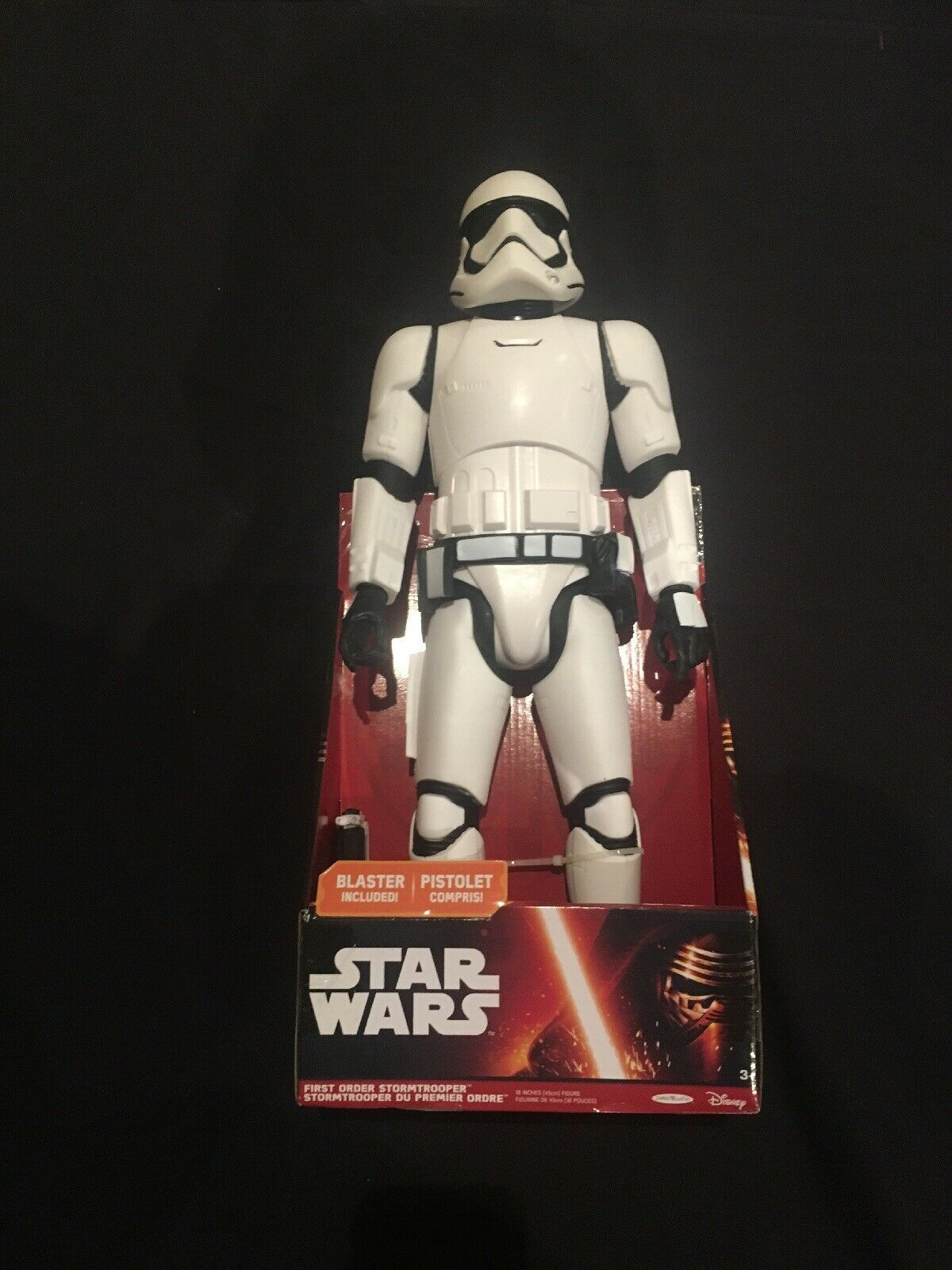 estrella guerras Jakks gree Figs  Imperial StormTrooper with Blaster  Articulated 19""