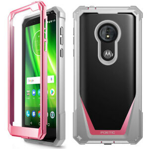 For-Moto-G6-Play-G6-Forge-Case-Scratch-Resistant-Back-Shockproof-Cover-Pink