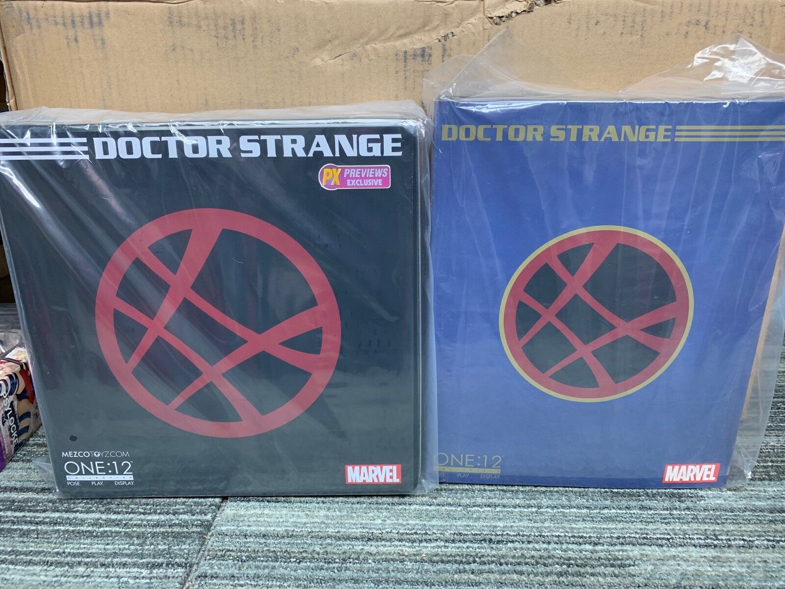 Mezco ONE 12 DOCTOR STRANGE DEFENDERS PX exclusive and standard version lot set