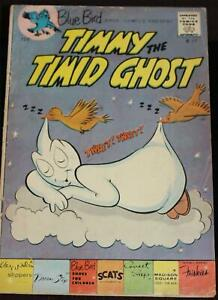 Former Disneyland Lessee 1963 Blue Bird Shoe Comics #17 Timmy the Timid Ghost