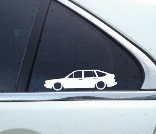 for VW Passat B2 32b 1981-1988 hatchbackclassic 2X Lowered car stickers