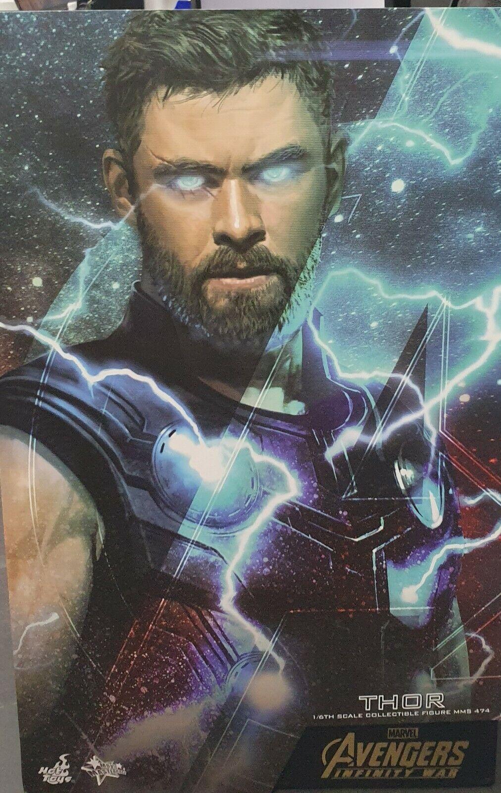Marvel  Infinity War Thor; 1 6th Scale Figurine