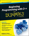 Beginning Programming with C++ For Dummies by Stephen R. Davis (Paperback, 2014)