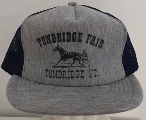 Vintage Tunbridge Fair Vermont Mesh Trucker Style