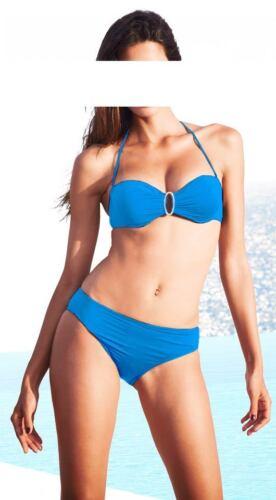Bikini Heine türkis C-Cup abnehmbarer NeckholderGr 36 38 40