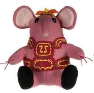 SOFT-TOY-TV-CHARACTER-10-034-CLANGER-WITH-PINK-VEST