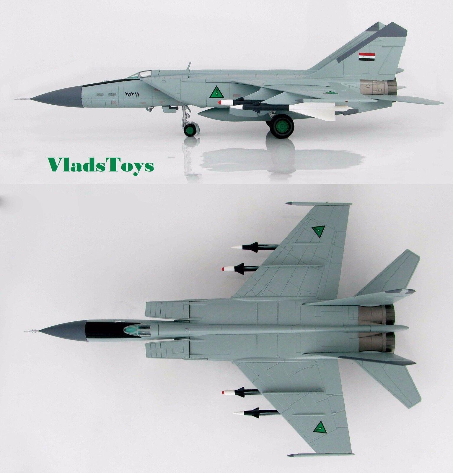 Hobby Master 172 MiG-25PDS Foxbat-e iqaf 84th Sqn Hornet Killer Iraq, HA5602