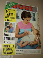 OGGI=1967/36=ALAIN DELON=CLAUDE LELOUCH=NINA RICCI=GUIDO PIOVENE=CARLO TERZOLO=