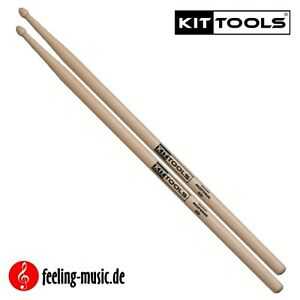 2-Paar-KitTools-Drumsticks-Hickory-8D-KIR8D