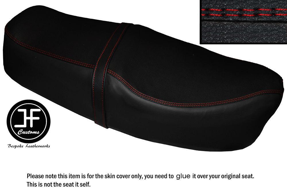 RED /& BLACK VINYL CUSTOM FITS HONDA VFR 750 F 1994-1997 DUAL SEAT COVER ONLY