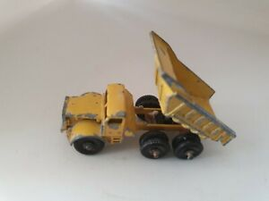 Vintage-Lesney-Matchbox-No-6-Euclid-Dump-Truck