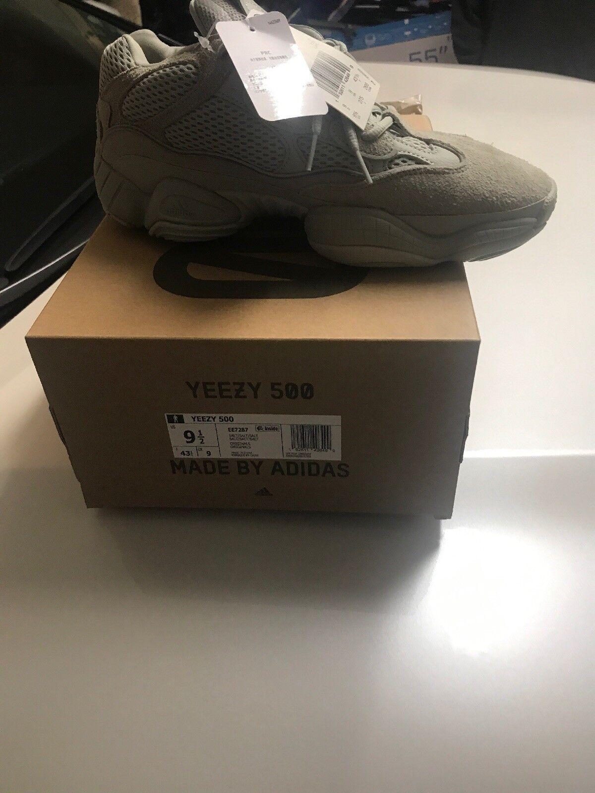 Adidas Yeezy Boost 500 Salt EE7287 EE7287 EE7287 Men's Size 9.5 Deadstock In Hand 3945c2