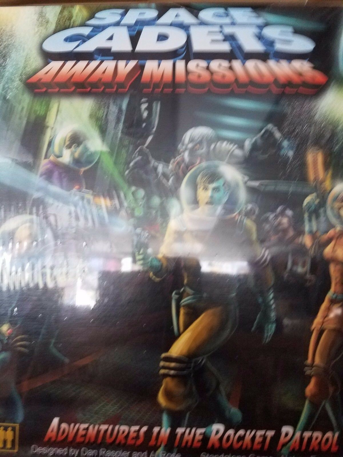 Space ets Away missions Board Game-Stronghold JEUX NEUF new in box