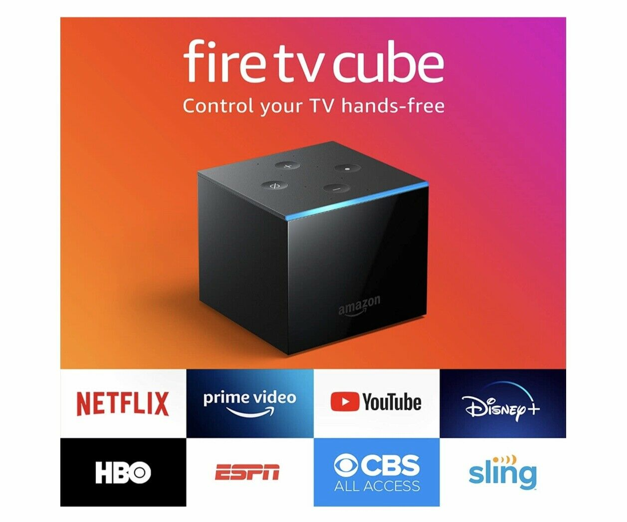 Amazon Fire TV Cube (2nd Generation) 16GB 4K UHD Streaming Media Player! NEW! 16gb amazon cube fire media streaming uhd