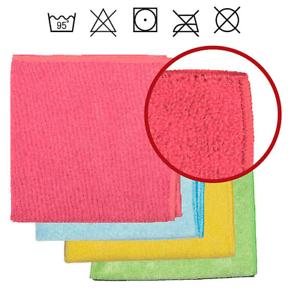 5 x Sprintus Mikrofasertuch Rainbow Grün 40 x 40 cm Microfasertuch 301238
