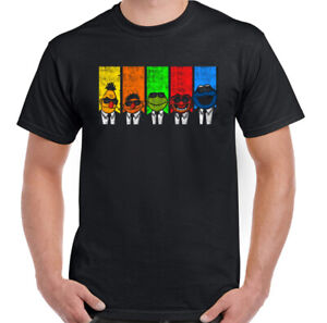 RESERVOIR-DOGS-T-SHIRT-The-Muppets-Mens-Funny-Unisex-Tee-Top-Movie-Film-Parody
