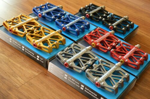 Cycletrack CK028// 008// 068 XC DJ Downhill platform Pedals 6 sealed bearings